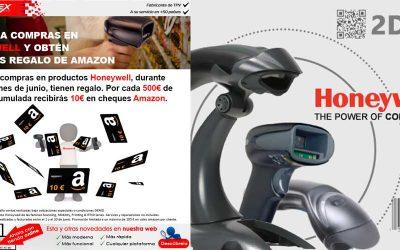 Cheques regalo Amazon con tus compras en Honeywell