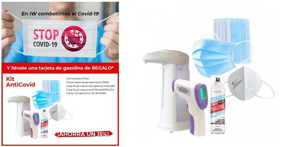 Ya tienes disponible el kit anti COVID