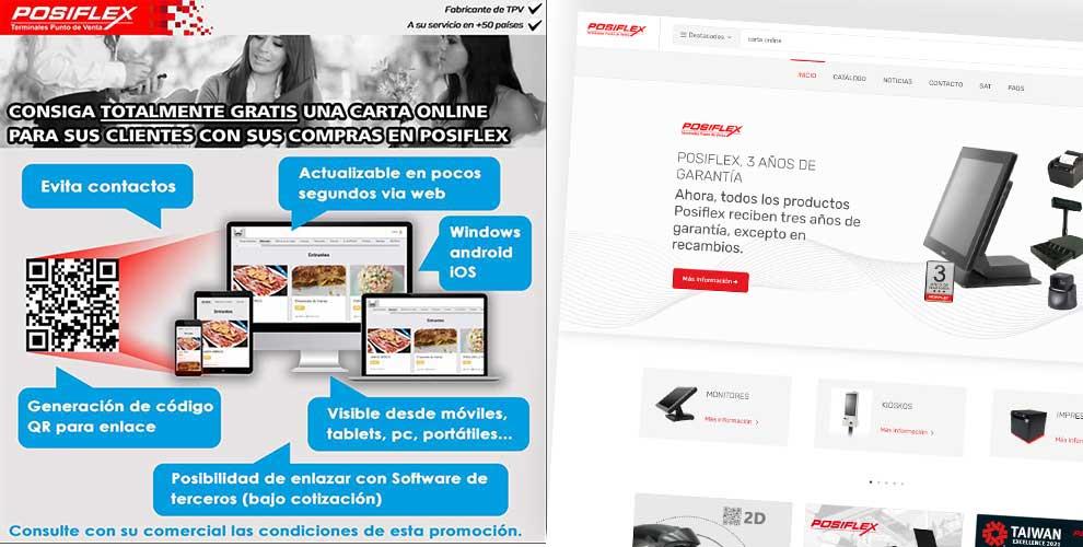 carta online gratis en Posiflex