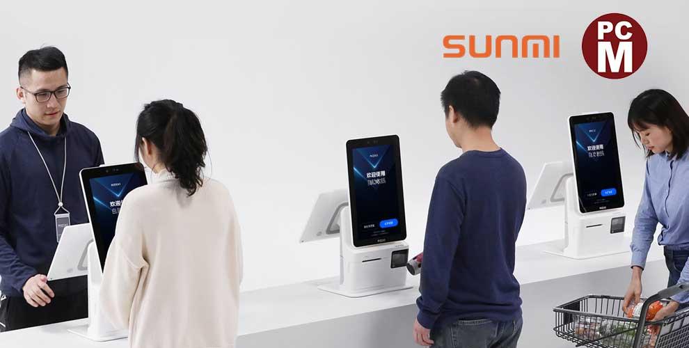 novedad kiosko digital sunmi