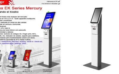 Reinventando el kiosko con EK Series Mercury de Posiflex