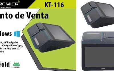 Muzybar presenta el TPV Premier KT-116