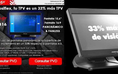 Con Posiflex, tu TPV es un 33% más TPV