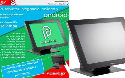 Potencia, robustez y elegancia con Posiflex RT-1016A