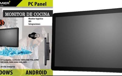 Premier PC Panel convertible en TPV gran formato