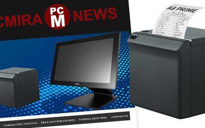 Nueva impresora de tickets Posbank A8