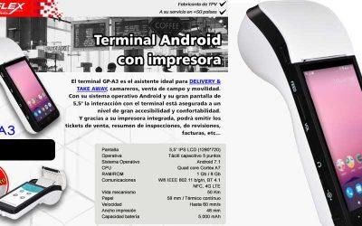 Mustek GP-A3, terminal Android con impresora