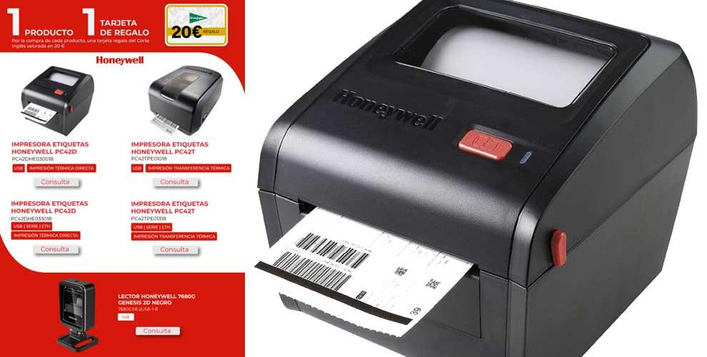 Las impresoras Honeywell vienen con regalo en Infowork