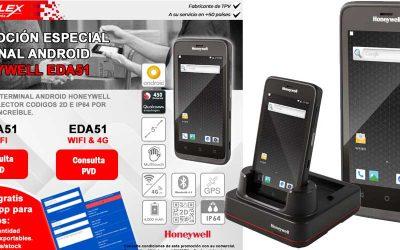 Posiflex lanza una oferta especial del Honeywell EDA51