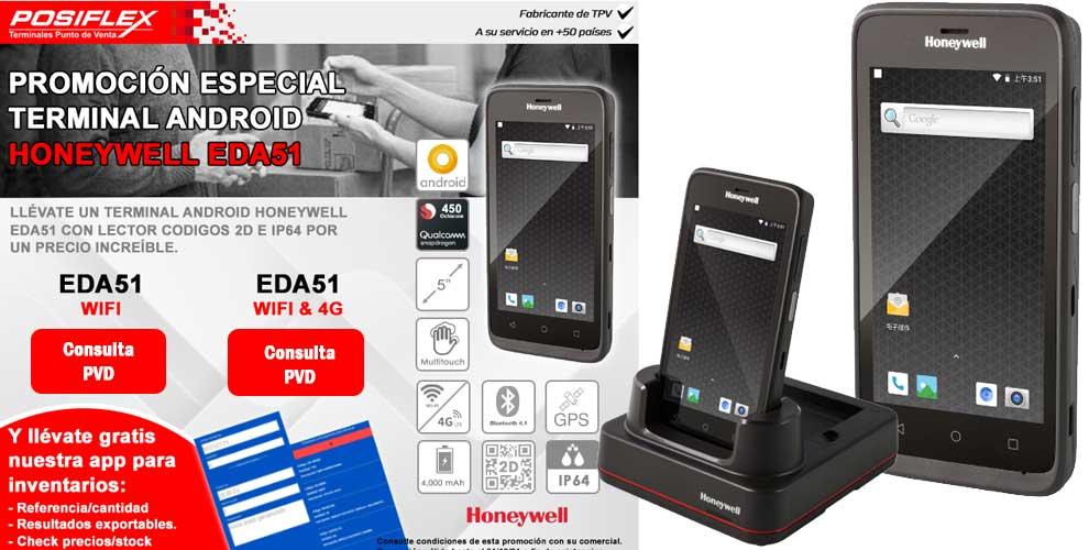 honeywell eda51 terminal android promo
